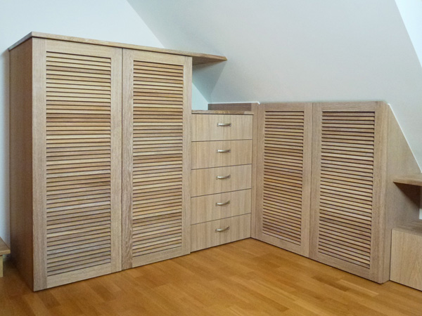 Agencement Chambre et Dressing Atelier Ours Blanc